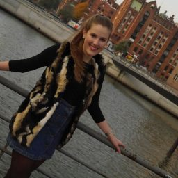 Button Front Denim Skirt (3)