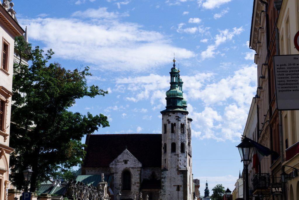 kraków poland church old town