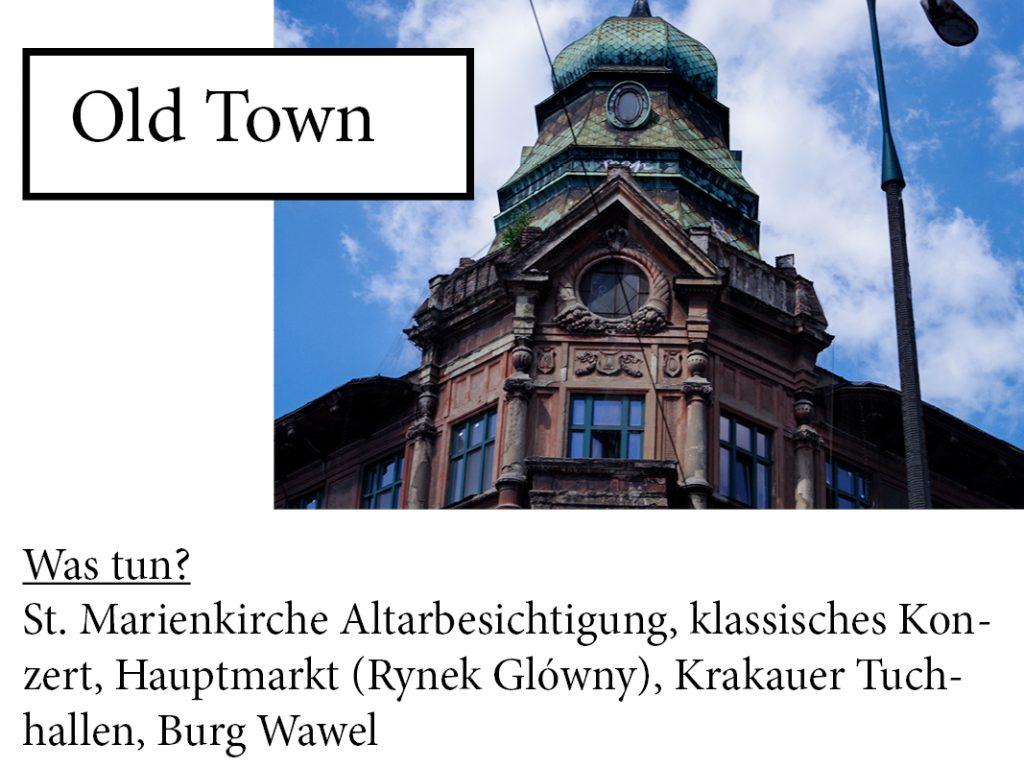kraków old town was tun