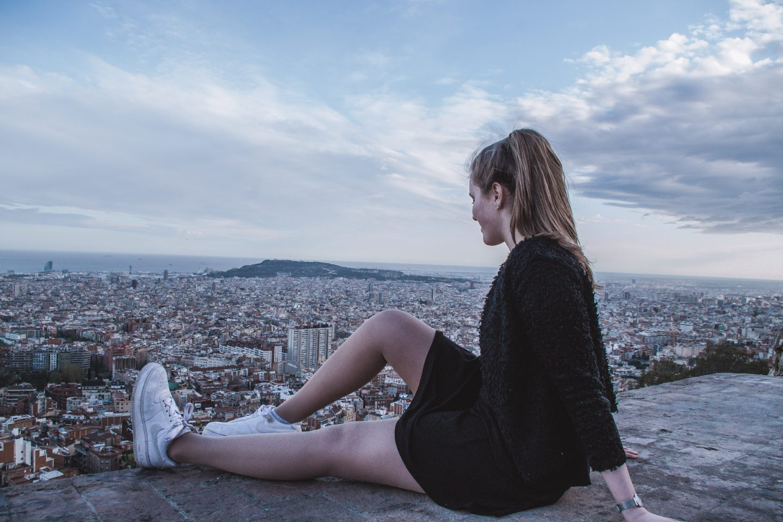 Black Dress |Bunkers del Carmel (Barcelona)