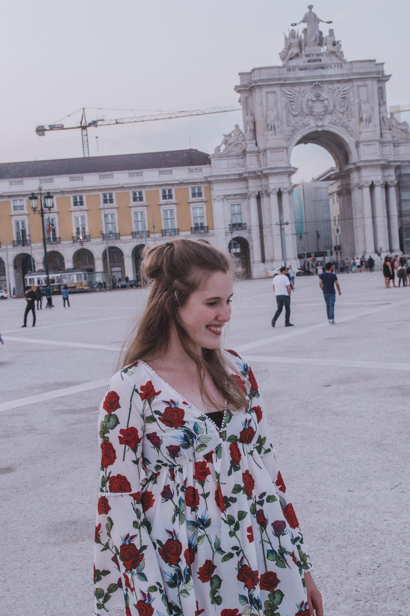 Just another flower dress |Lisbon