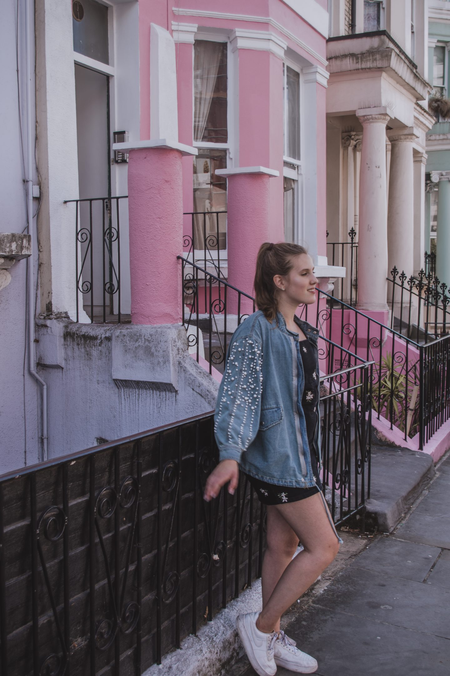 Denim Dress & where to go in Notting Hill