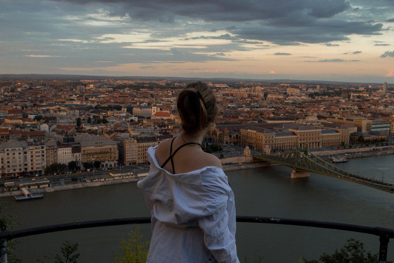 White Oversized Blouse |Budapest